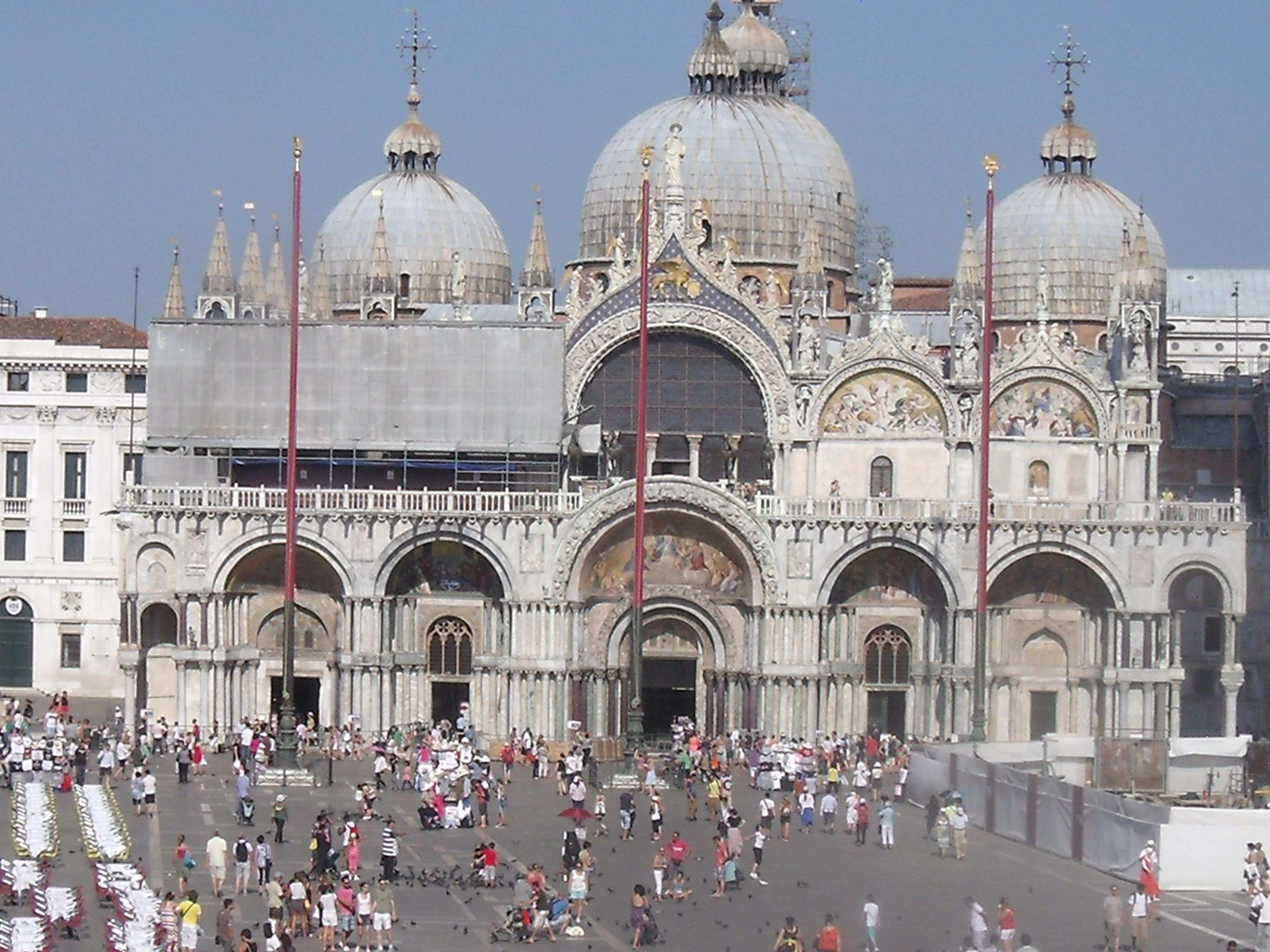 San marco in venice artrotter 39 s blog for Esterno basilica di san marco