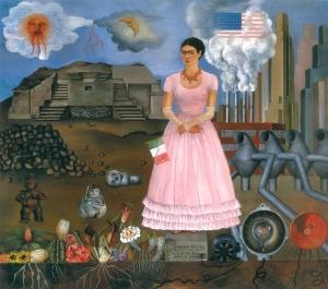 06 - Frida Kahlo - Autoritratto al confine tra Messico e Stati Uniti