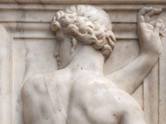 Bassorilievo marmoreo del recinto del coro