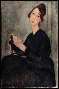 03 - Amedeo Modigliani - Ritratto di Dédie