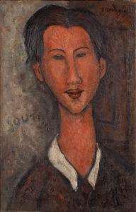 08 - Amedeo Modigliani -  Ritratto di Soutine