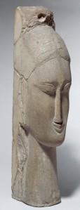16 - Amedeo Modigliani - Testa femminile