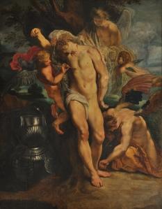 01 - Peter Paul Rubens, San Sebastiano curato dagli angeli, 1602-04, Roma, Palazzo Corsini