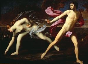 02 - Guido Reni,  Atalanta e Ippomene, 1615-18 ca., Napoli, Museo di Capodimonte