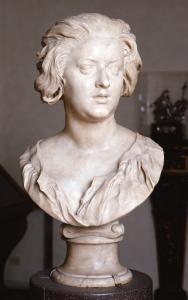 15 - Bernini, Ritratto di Costanza Bonarelli, 1636-37 circa, Firenze, Museo Nazionale del Bargello