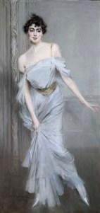 Ritratto di Madame Charles Max, olio su tela, Boldini Giovanni (1842-1931), Musée d'Orsay, ParigiBoldini, Giovanni1896Francia - Parigi, Musée d'Orsay